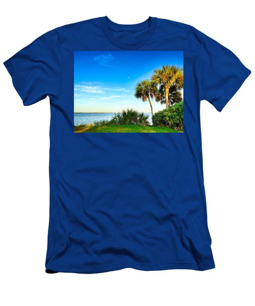 Private Paradise  Men's T-Shirt (Athletic Fit)