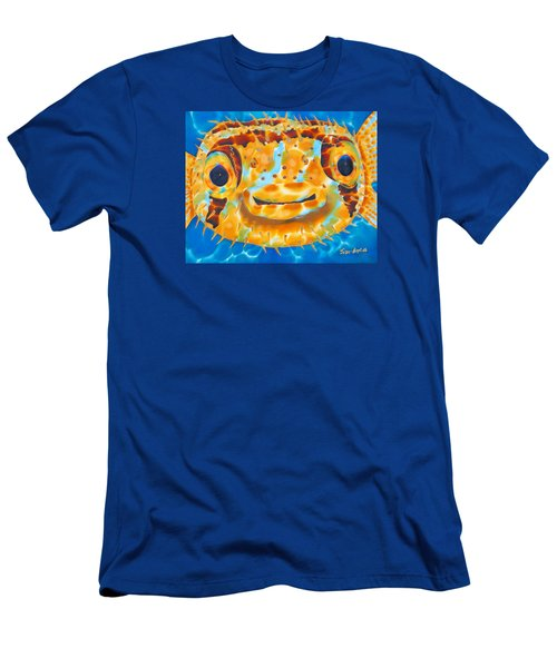 Puffer Fish Men's T-Shirt (Athletic Fit)