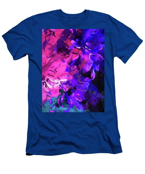 Purple Behind Pink Men's T-Shirt (Athletic Fit)