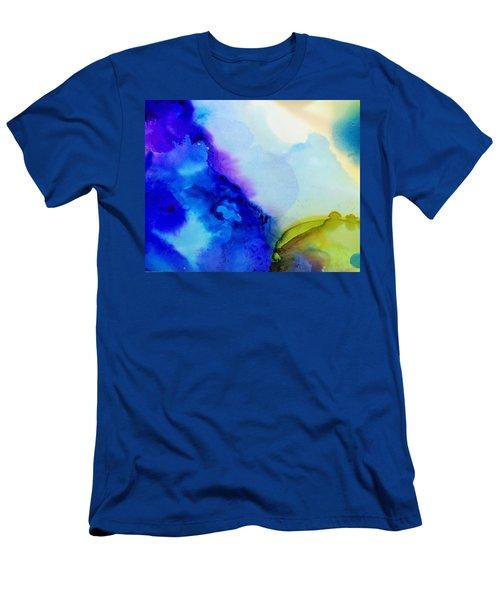 Purple Flow Men's T-Shirt (Athletic Fit)