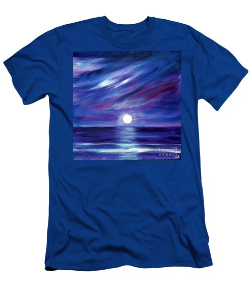 Purple Night Men's T-Shirt (Athletic Fit)