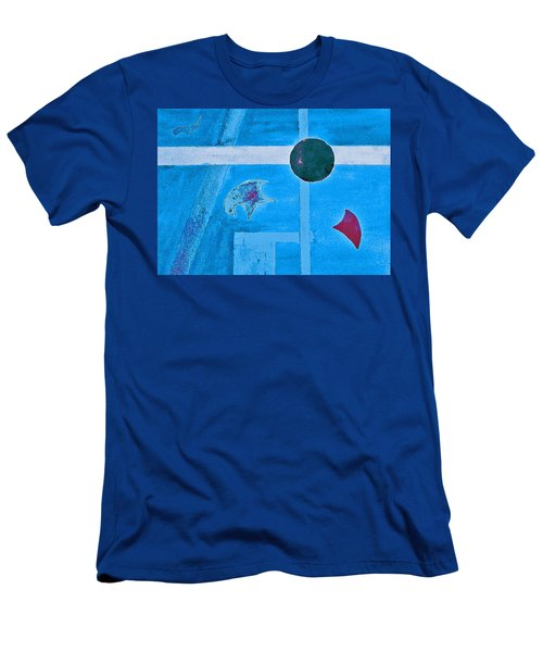 Purposphere Gone Blue Men's T-Shirt (Athletic Fit)