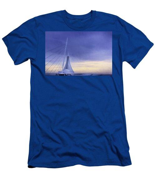 Quadracci Pavilion Sunrise Men's T-Shirt (Athletic Fit)