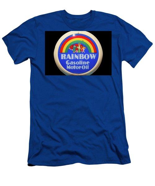 Rainbow Gasoline Men's T-Shirt (Athletic Fit)