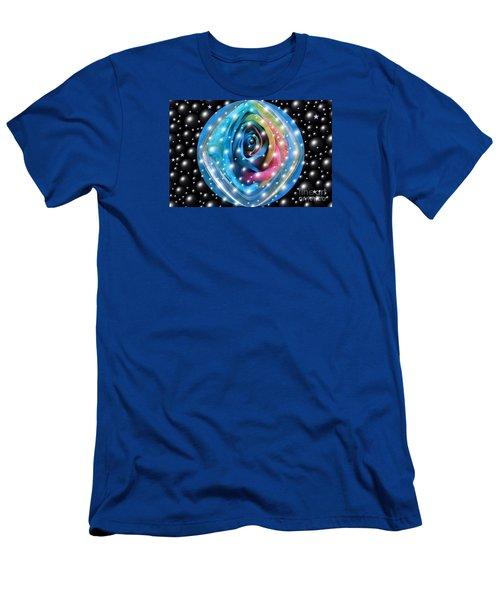 Rose Planet Men's T-Shirt (Athletic Fit)