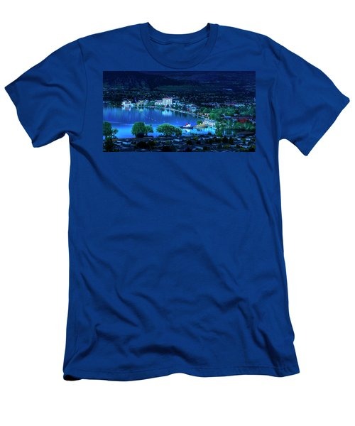Men's T-Shirt (Athletic Fit) featuring the photograph Raven's Eye View by John Poon