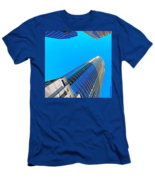 Reach For The #sky. #keepaustinweird Men's T-Shirt (Athletic Fit)