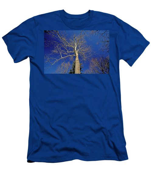 Men's T-Shirt (Slim Fit) featuring the photograph Reaching For The Sky by Suzanne Stout