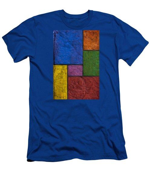 Rectangles Men's T-Shirt (Slim Fit) by Don Gradner