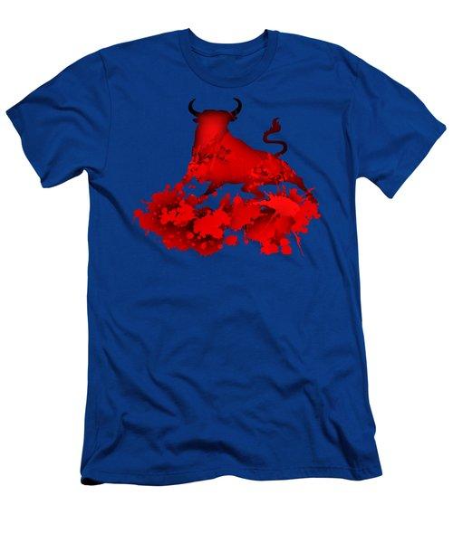 Red Bull.1 Men's T-Shirt (Athletic Fit)