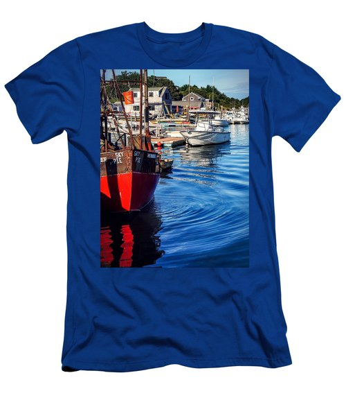 Red White Blue Men's T-Shirt (Athletic Fit)