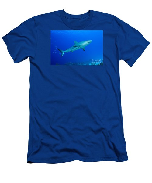 Men's T-Shirt (Slim Fit) featuring the photograph Out Of The Blue by Aaron Whittemore