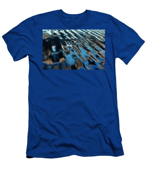 Reflections From A Dock Men's T-Shirt (Slim Fit) by Debbie Oppermann