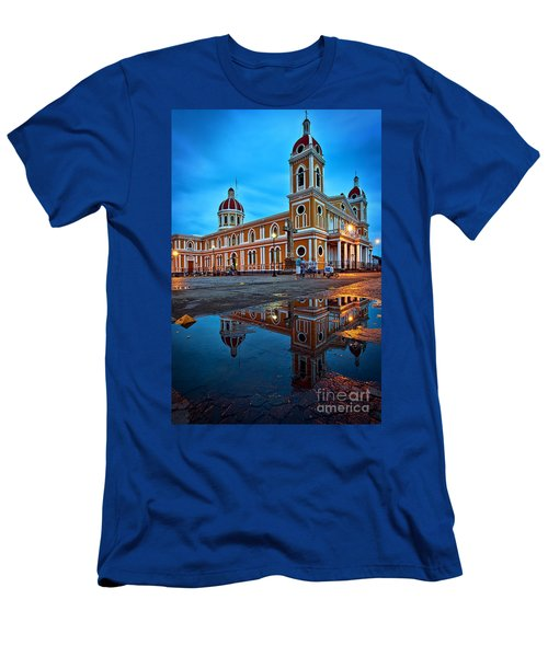 Reflections Of Granada, Nicaragua  Men's T-Shirt (Athletic Fit)
