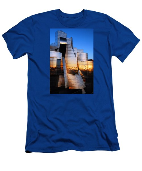 Reflections Of Sunset Men's T-Shirt (Slim Fit) by James Kirkikis