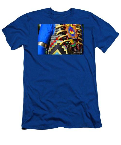 Men's T-Shirt (Slim Fit) featuring the photograph Regalia 1 by Lew Davis