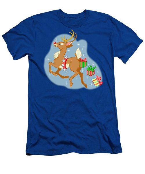 Reindeer Gifts Men's T-Shirt (Athletic Fit)