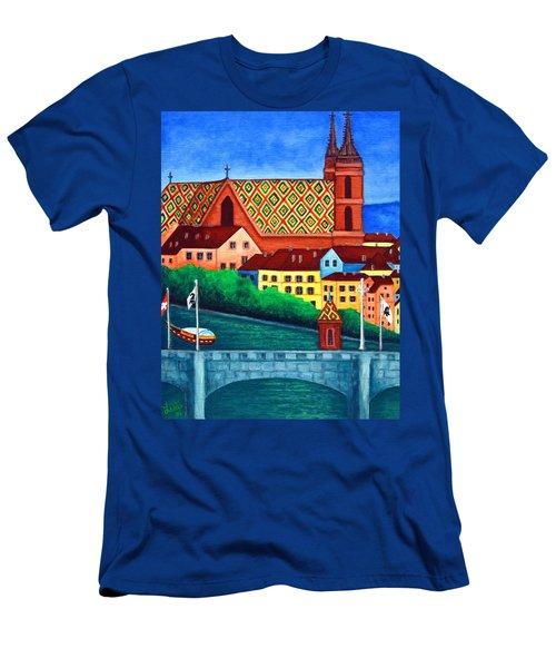 Remembering Basel Men's T-Shirt (Athletic Fit)