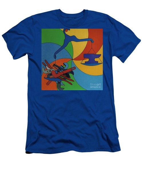 Rfb0924 Men's T-Shirt (Athletic Fit)