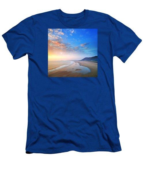 Rhosili 2 Men's T-Shirt (Athletic Fit)