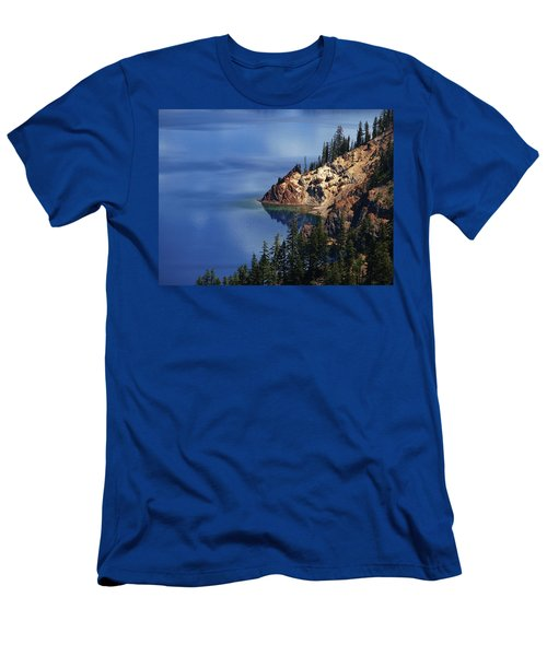 Right Side Of Crater Lake Oregon Men's T-Shirt (Athletic Fit)