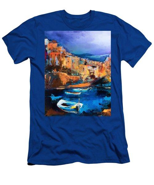 Riomaggiore - Cinque Terre Men's T-Shirt (Athletic Fit)