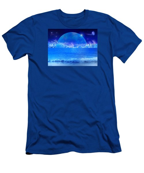 Men's T-Shirt (Slim Fit) featuring the digital art Rise by Bernd Hau