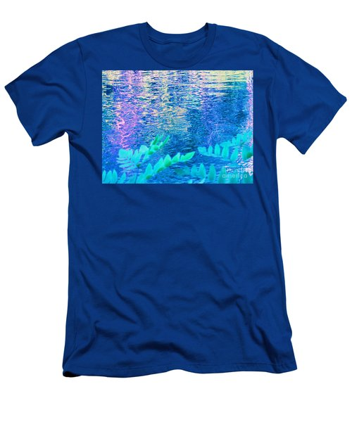 Distractions From The River Waters Men's T-Shirt (Athletic Fit)