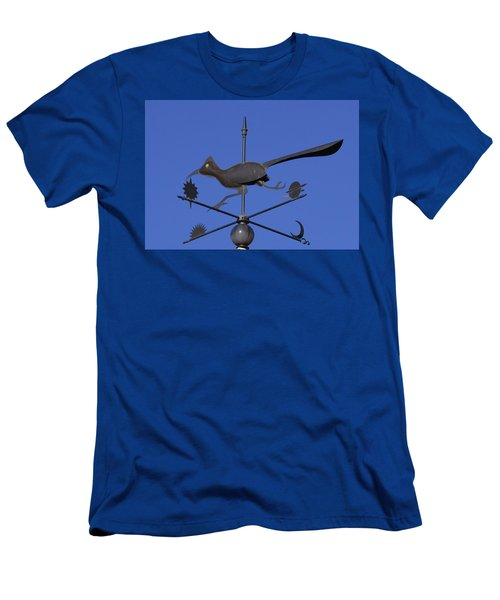 Road Runner Weather Vane Men's T-Shirt (Slim Fit) by Joan Hartenstein