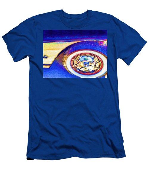 Road Trip Blues Men's T-Shirt (Athletic Fit)