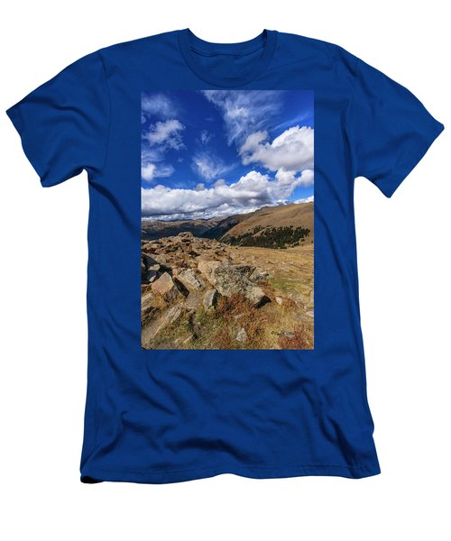 Rocky Mountain National Park Colorado Men's T-Shirt (Athletic Fit)