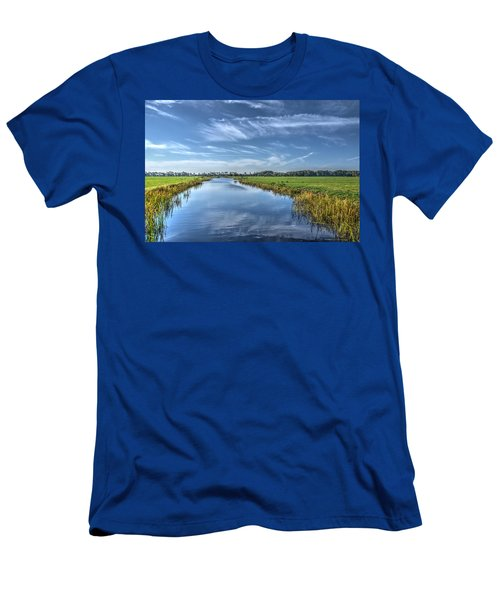 Royal Canal And Grasslands Men's T-Shirt (Athletic Fit)