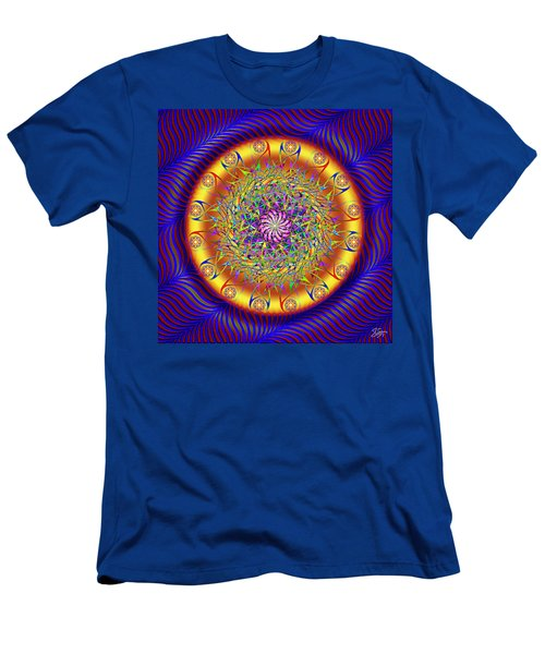 Sacred Geometry 649 Men's T-Shirt (Athletic Fit)