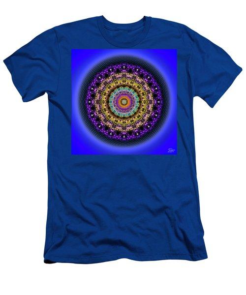 Sacred Geometry 708 Men's T-Shirt (Athletic Fit)