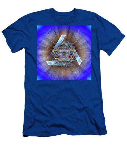 Sacred Geometry 717 Men's T-Shirt (Athletic Fit)