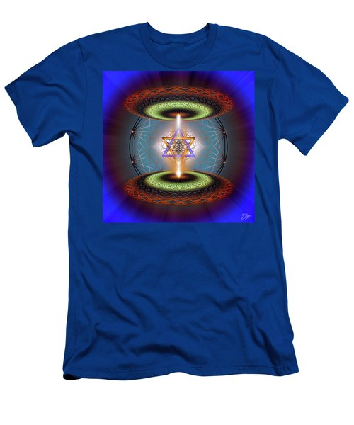 Sacred Geometry 718 Men's T-Shirt (Athletic Fit)