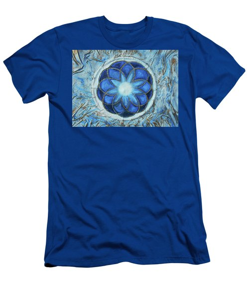 Sacred Geometry Men's T-Shirt (Slim Fit) by Angela Stout