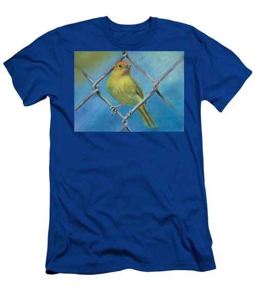 Safron Finch Men's T-Shirt (Athletic Fit)