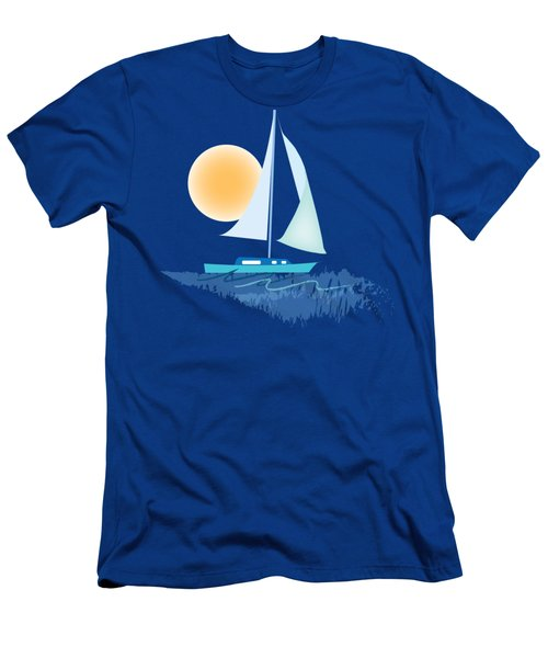 Sailing Day Men's T-Shirt (Athletic Fit)