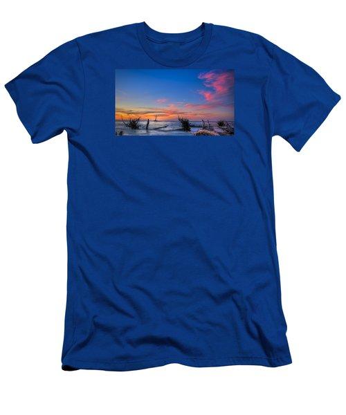 Sailing Hazard Men's T-Shirt (Athletic Fit)