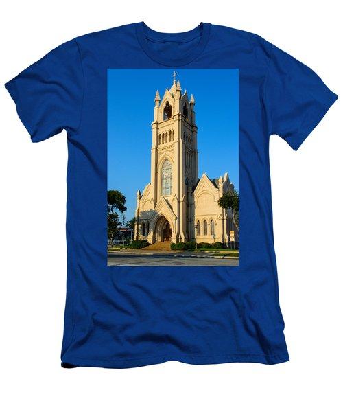 Saint Patrick Catholic Church Of Galveston Men's T-Shirt (Athletic Fit)