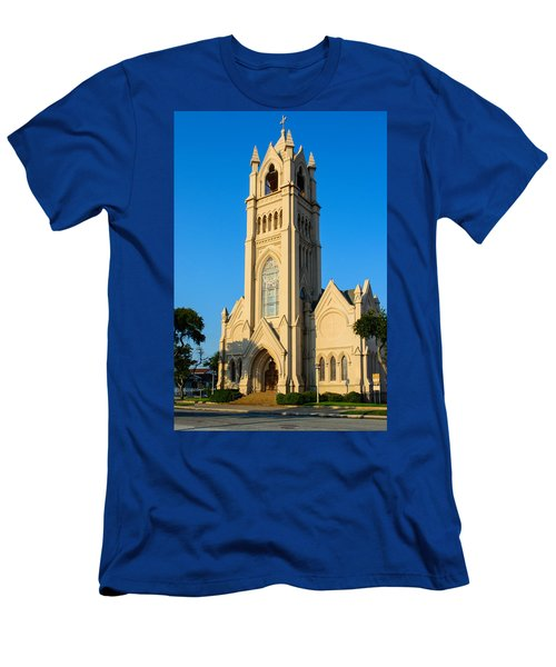 Saint Patrick Catholic Church Of Galveston Men's T-Shirt (Athletic Fit)