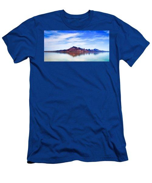 Salt Lake Mountain Men's T-Shirt (Athletic Fit)