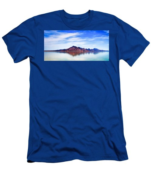 Salt Lake Mountain Men's T-Shirt (Athletic Fit)
