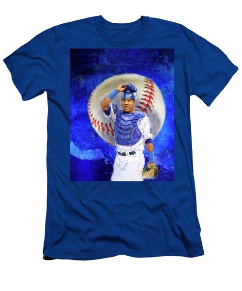 Salvador Perez-kc Royals Men's T-Shirt (Athletic Fit)