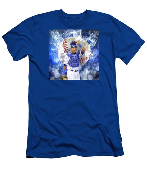 Salvy The Mvp Men's T-Shirt (Slim Fit) by Colleen Taylor
