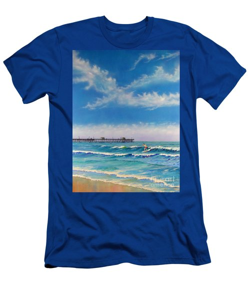 San Clemente Surf Men's T-Shirt (Athletic Fit)
