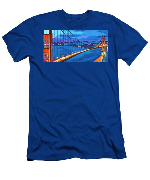 San Francisco Bay Blues  Men's T-Shirt (Athletic Fit)