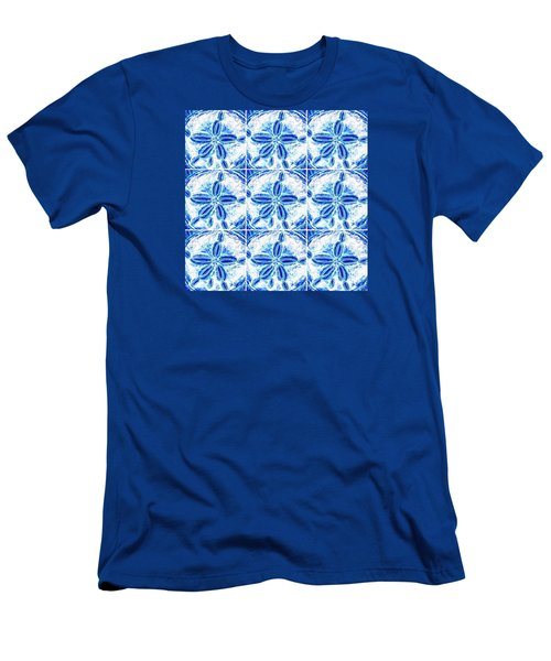 Sand Dollar Delight Pattern 3 Men's T-Shirt (Athletic Fit)