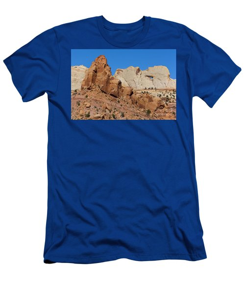 Sandstone Arch At Capitol Reef Men's T-Shirt (Athletic Fit)